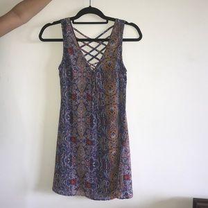 Patterned sun dress